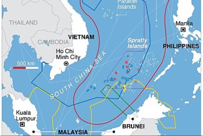 China Dirikan Bangunan di Zona Ekonomi Eksklusif Filipina