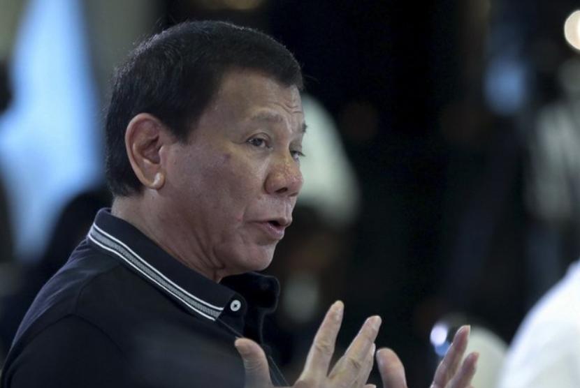 Presiden Rodrigo Duterte.