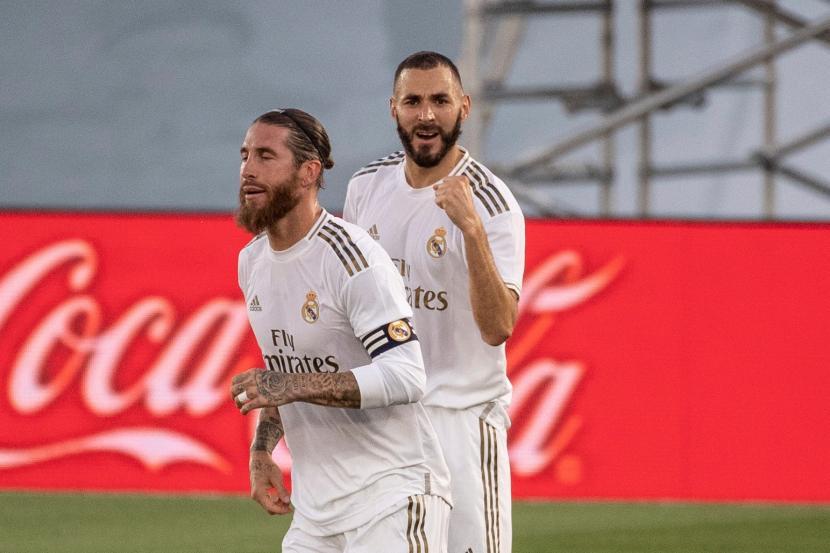 Kalahkan Huesca 4-1, Real Madrid Duduki Puncak Klasemen