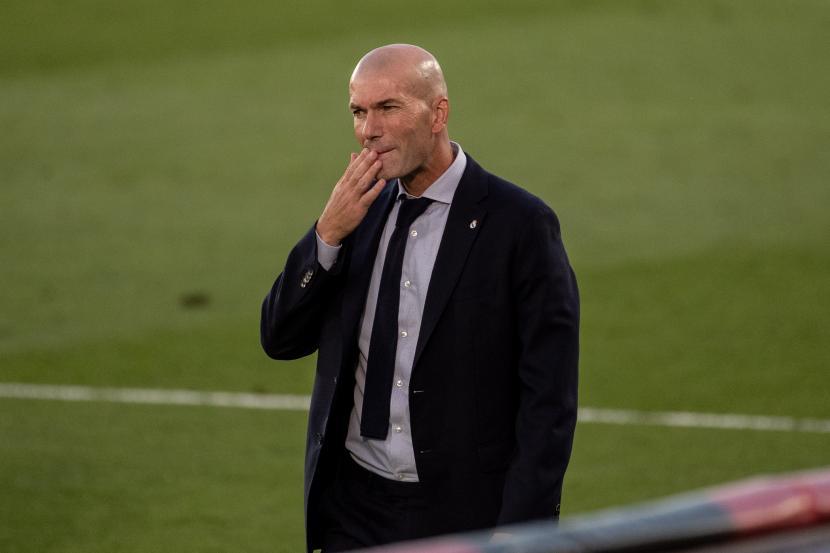 Zidane tak Bisa Jelaskan Kekalahan Real Madrid