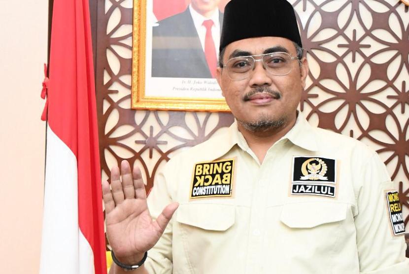 Wakil Ketua MPR Jazilul Fawaid dalam Diskusi 4 Pilar yang digelar di Media Center, Gedung Nusantara III, Komplek Gedung MPR/DPR RI, Jakarta, Senin (10/8) lalu, mengatakan dalam mengatasi pandemi Covid-19 tak ada buku petunjuk yang pasti.