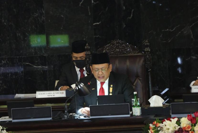 Ketua MPR RI Bambang Soesatyo mengapresiasi kehadiran Presiden Joko Widodo dalam Sidang Tahunan MPR 2020.