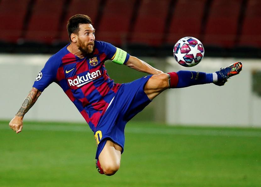 Barca Menang Messi Cetak Gol Republika Online