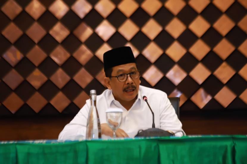 Wamenag Dorong Mahasiswa PTKI Jadi Agen Moderasi Beragama. Wakil Menteri Agama Zainut Tauhid Sa'adi.