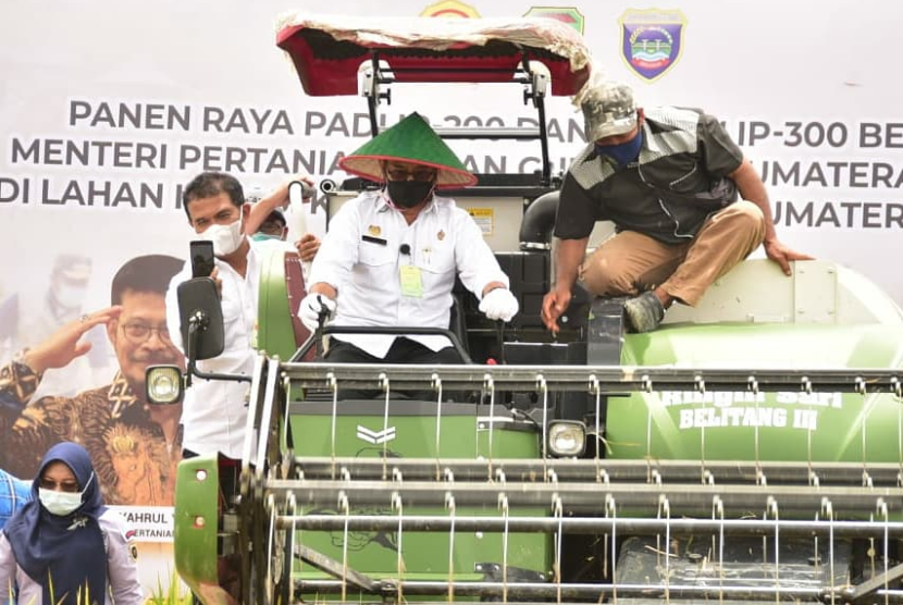 Kementerian Pertanian (Kementan) terus berkomitmen meningkatkan produktivitas padi guna memperkuat ketahanan beras nasional.