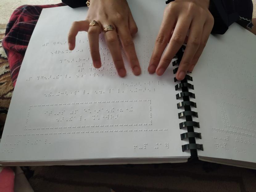 Alquran Braille (ilustrasi)