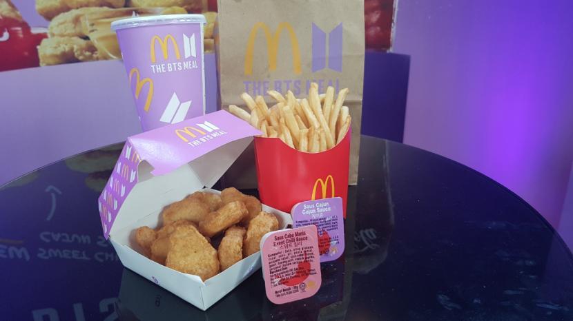 Menu baru kolaborasi BTS dan McDonald's, BTS Meals.