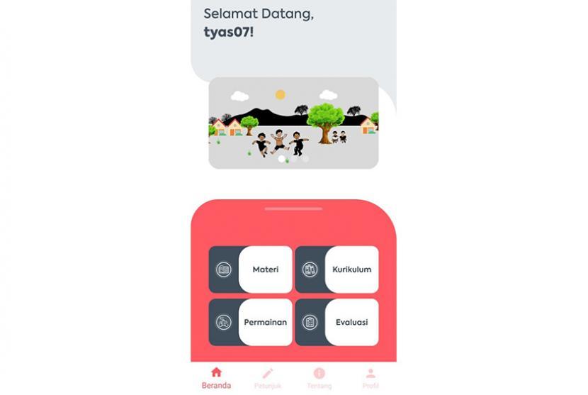 Tim dosenProgram Studi (Prodi) Pendidikan Guru Sekolah Dasar (PGSD) Universitas Muhammadiyah Malang (UMM) menciptakan aplikasi android bernama Cerita Anak.