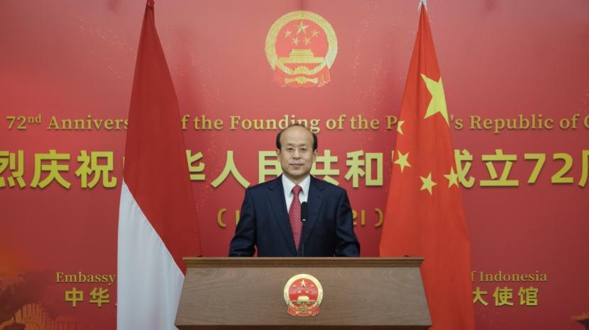 Resepsi HUT ke-72 Republik Rakyat Cina secara daring