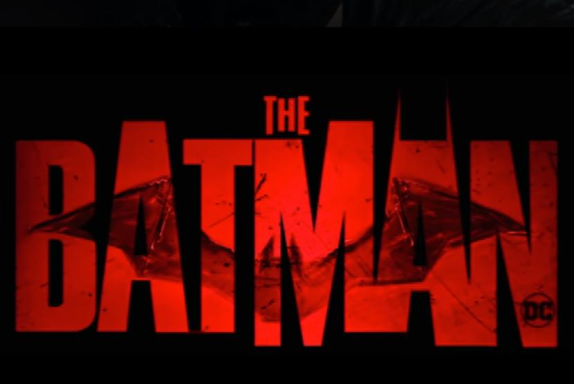 Poster film The Batman yang dibintangi Robert Pattinson.