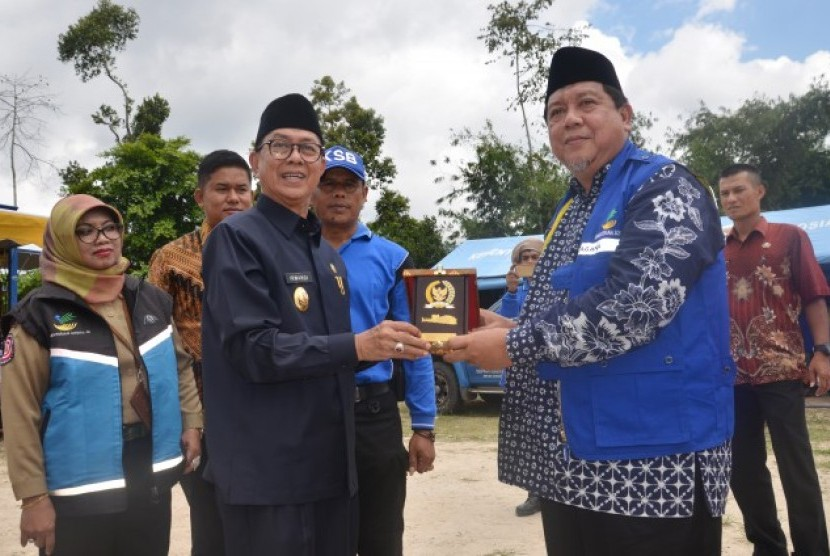 a Komisi VIII DPR RI mengunjungi Kampung Siaga Bencana di Bukittinggi.