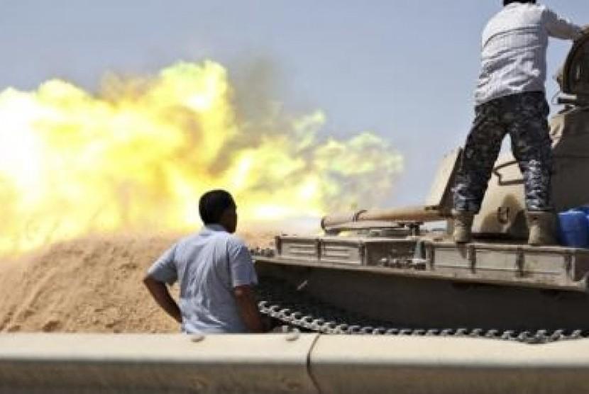 Konflik di Libya.