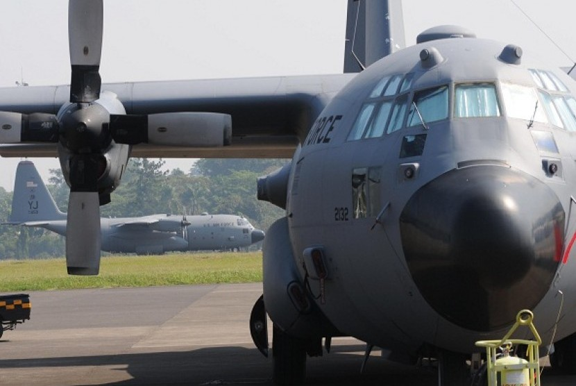 A type of C-130 Hercules (illustration)