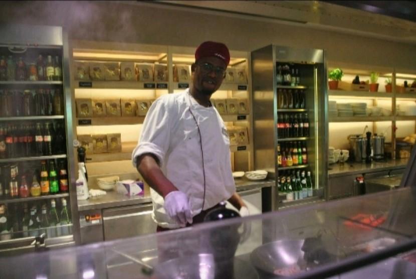 Abdoul, Muslim Jerman asal Senegal.