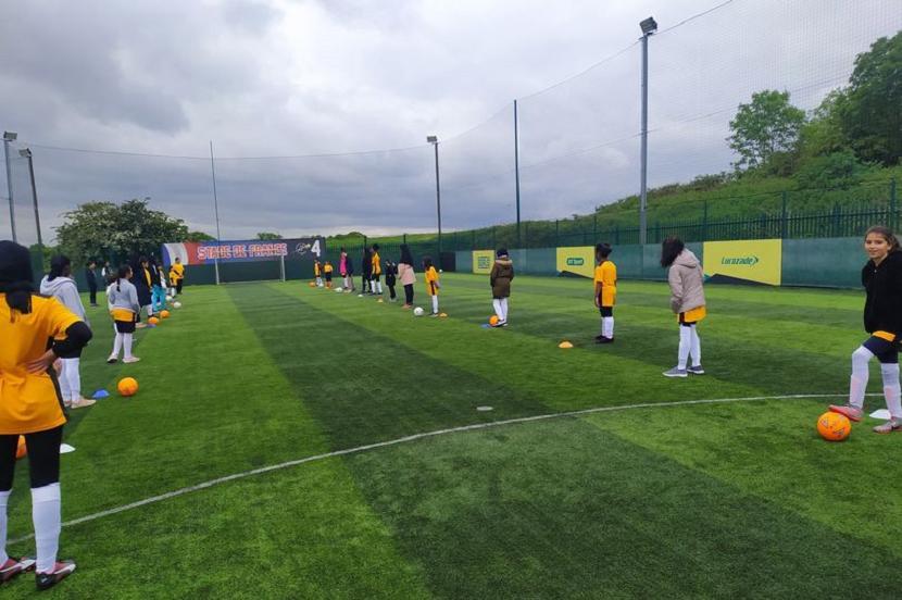 Abresham FC membuka klub sepak bola muslimah