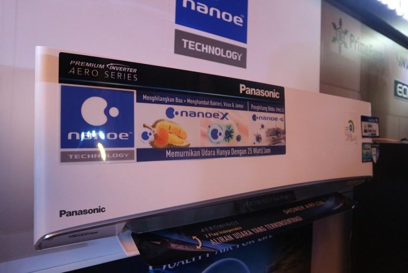 AC Panasonic dengan teknologi nanoe.