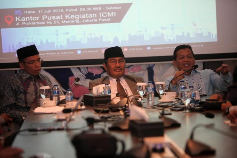 Acara 'Dialektika ICMI: Ekonomi Pasar dan Pemberdayaan Ekonomi Umat'.
