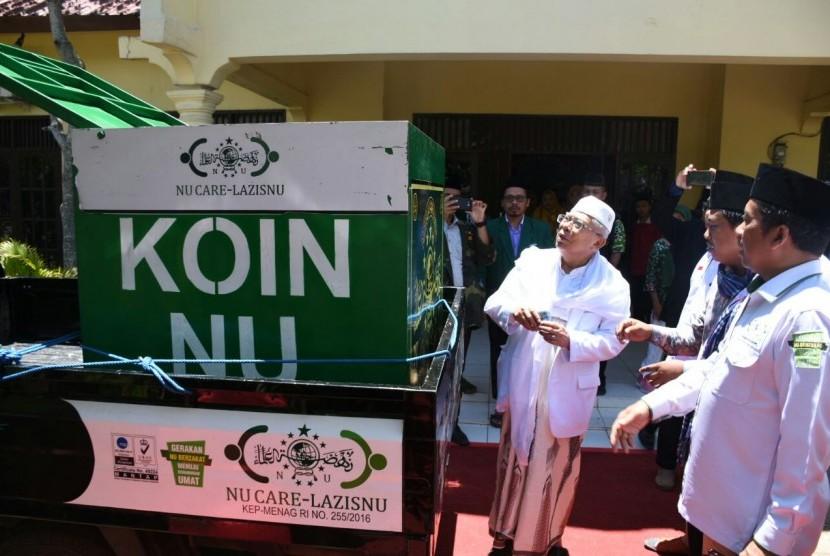 acara Grand Launching Lembaga-lembaga Pemberdayaan Umat di Pesantren An-Nawawi Tanara, Kabupaten Serang Banten,