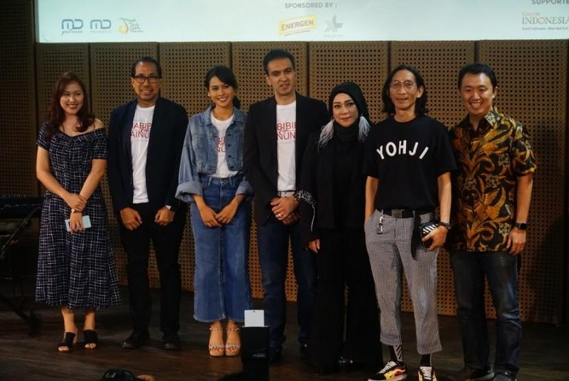 Acara perilisan video klip Kamu dan Kenangan di Galeri Indonesia Kaya, Rabu (3/7).