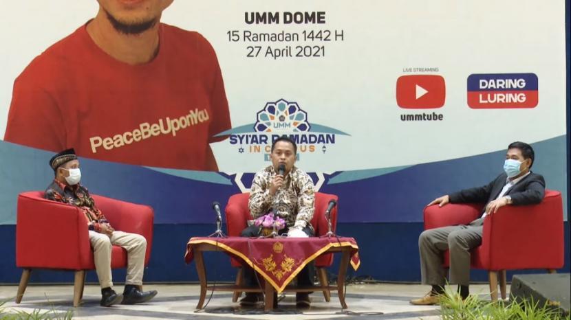 Acara Syiar Ramadan in Campus 1442 Hijriah di Universitas Muhammadiyah Malang.