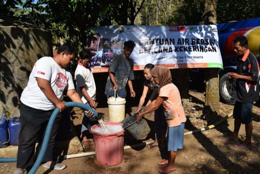 ACT kirim bantuan air bersih untuk atasi kekeringan di Gunungkidul dan Lombok.