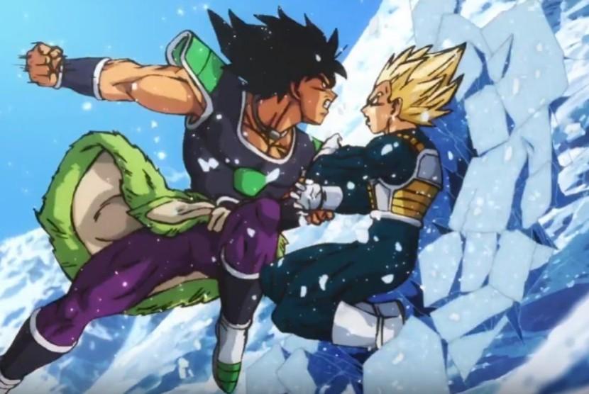 Adegan dalam film Dragon Ball Super: Broly.