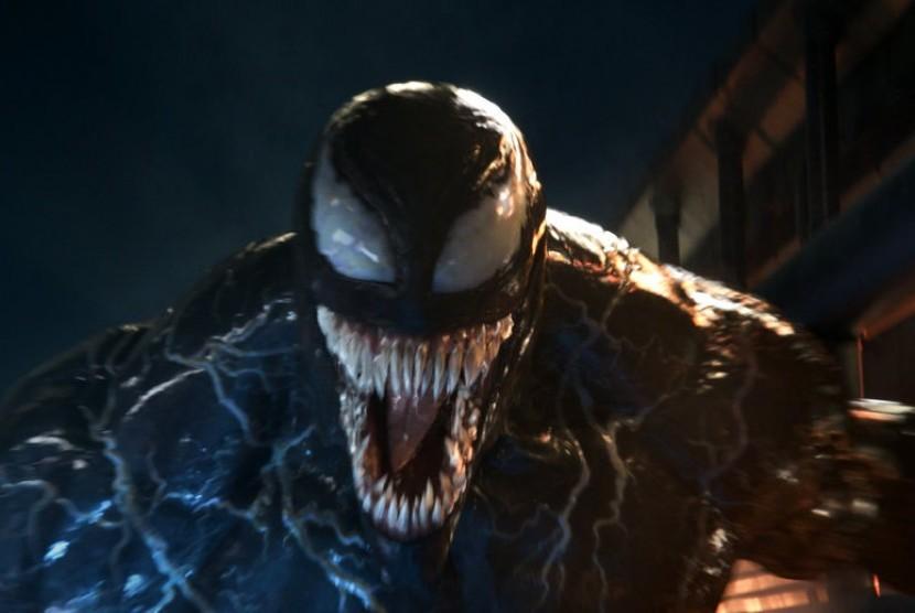 Adegan dalam film Venom.