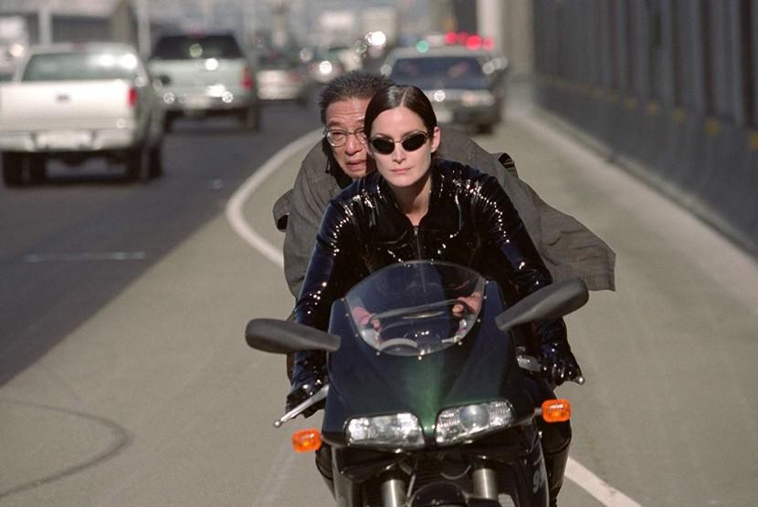 Adegan dari film Matrix Reloaded.