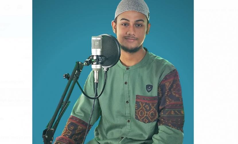 Adi Amar Haikal Husin, juara 1 kompetisi murottal Alquran Syiar Digital Indonesia (SDI).