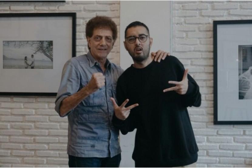 Ahmad Albar (kiri) dan Kemal Pahlevi.