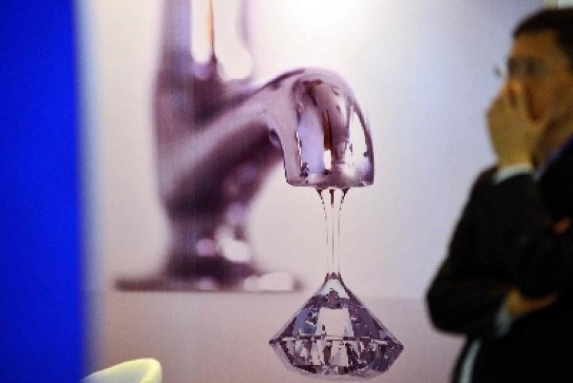 Air bersih (ilustrasi)