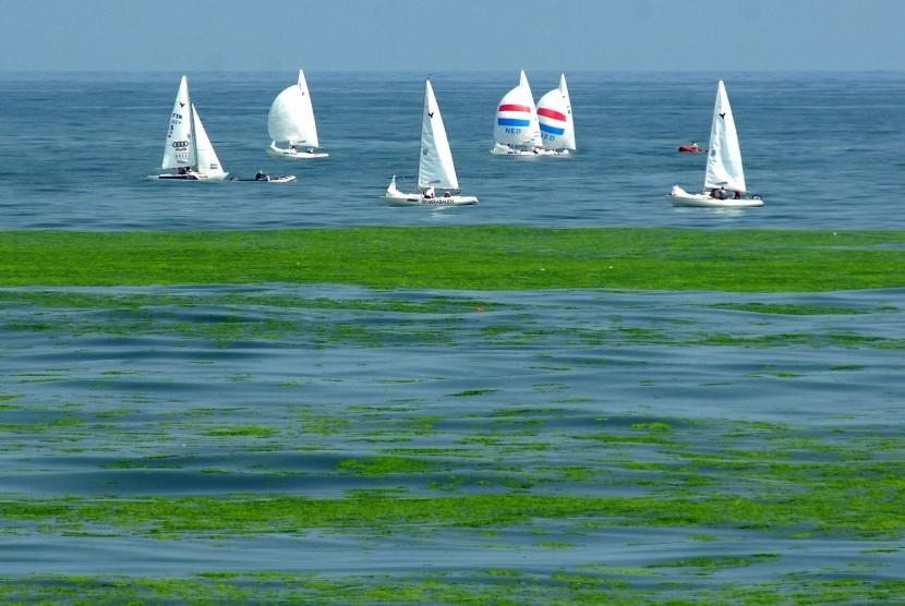 80 Gambar Air Laut Biru