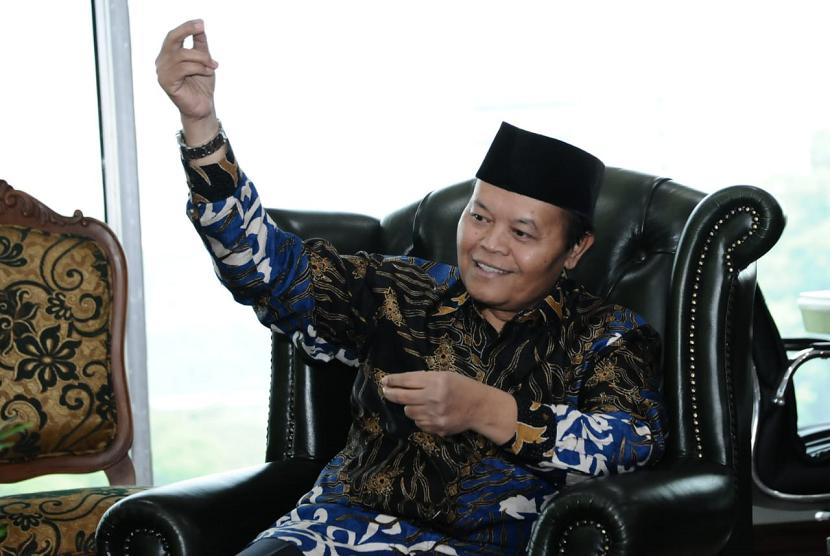 Wakil Ketua Majelis Permusyawaratan Rakyat (MPR) RI Hidayat Nur Wahid (HNW)