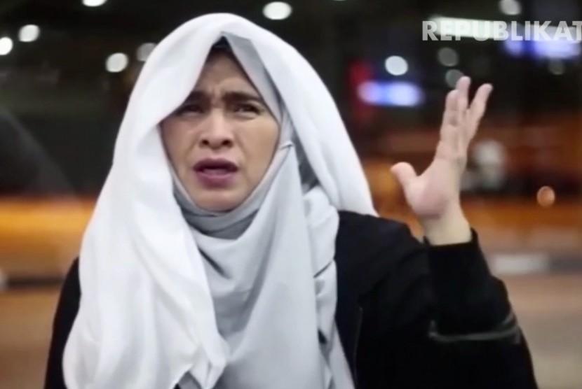 Akivis perempuan dan salah satu penggagas gerakan #2019GantiPresiden, Neno Warisman