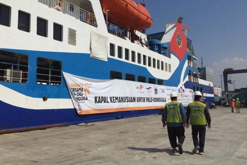 Aksi Cepat Tanggap (ACT) memberangkatkan kapal kemanusiaan