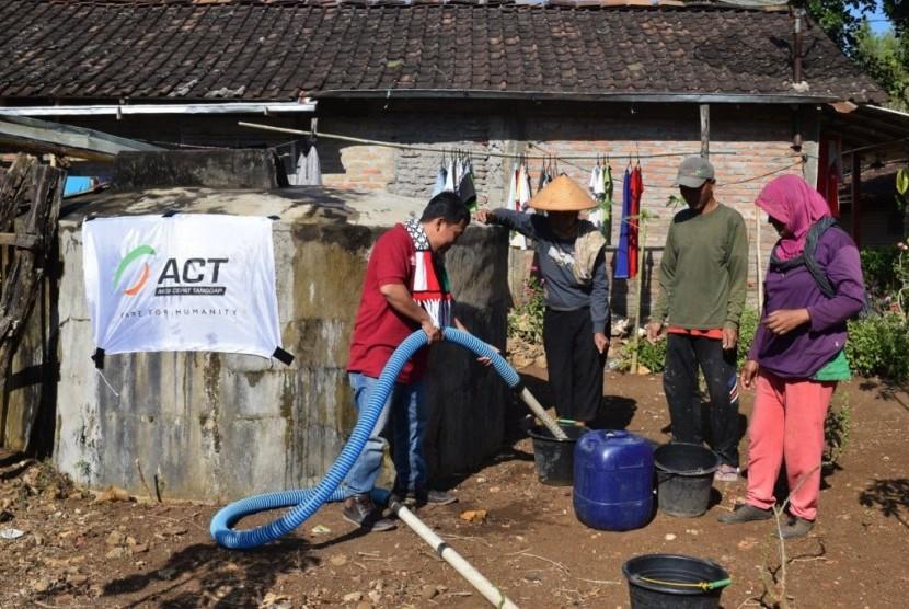 Aksi Cepat Tanggap (ACT) sedang  menyiapkan sejumlah program pasokan air bersih.