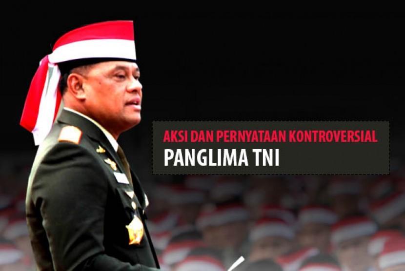 Aksi dan kontroversial Panglima TNI