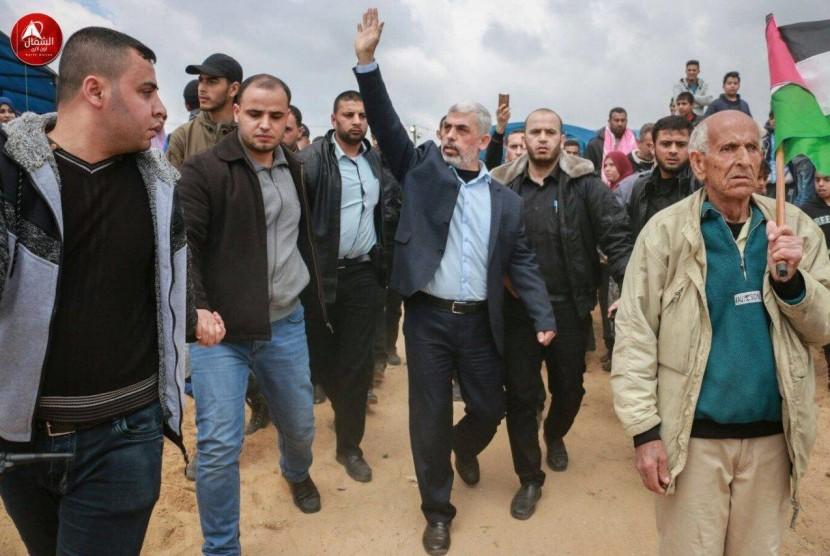 Aksi Great Return March Palestina.