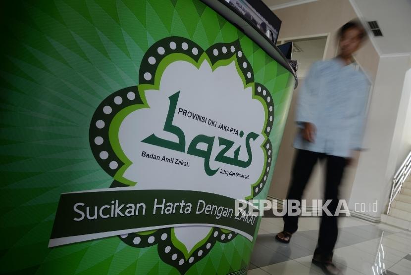 Aktivitas di Unit Pengumpul Zakat (UPZ) Bazis DKI Jakarta (ilustrasi)