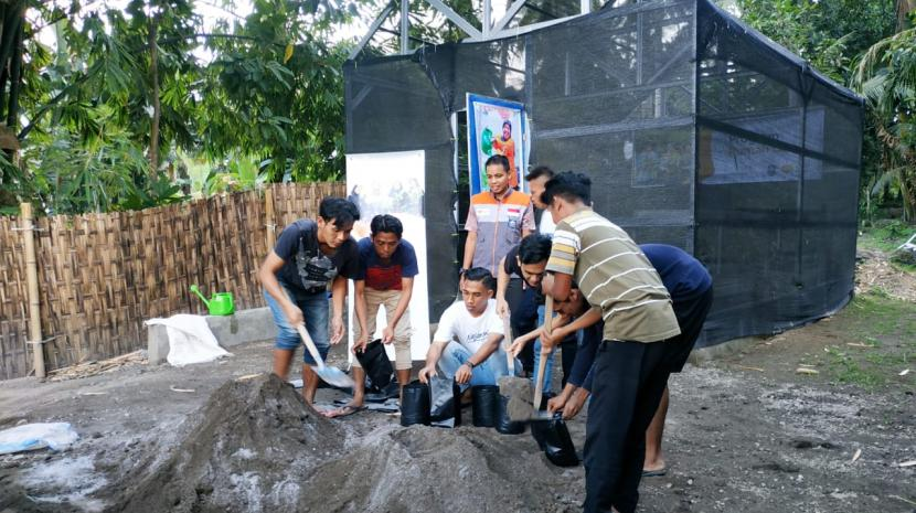 Aktivitas pemuda binaan yang istiqomah dalam melaksanakan kegiatan pembibitan di Rumah Gizi seperti ini akan berdampak pada keberlangsungan program Rumah Gizi