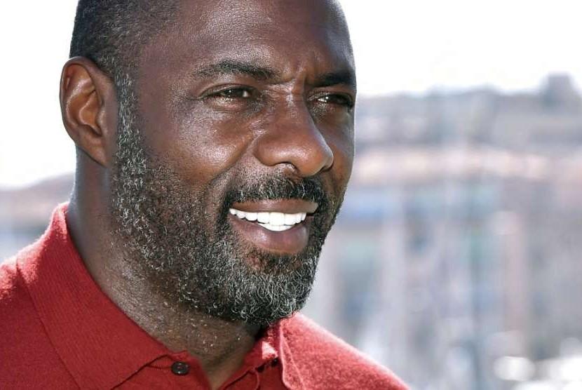 Aktor Idris Elba.