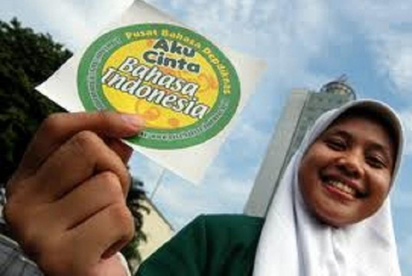 Aku cinta Bahasa Indonesia.