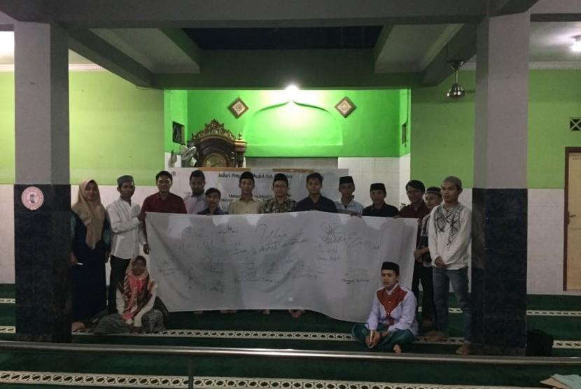 Al-Falah Institute (Alfin) Yogyakarta menginisiasi deklarasi independensi jelang pemilu, Selasa (13/3).