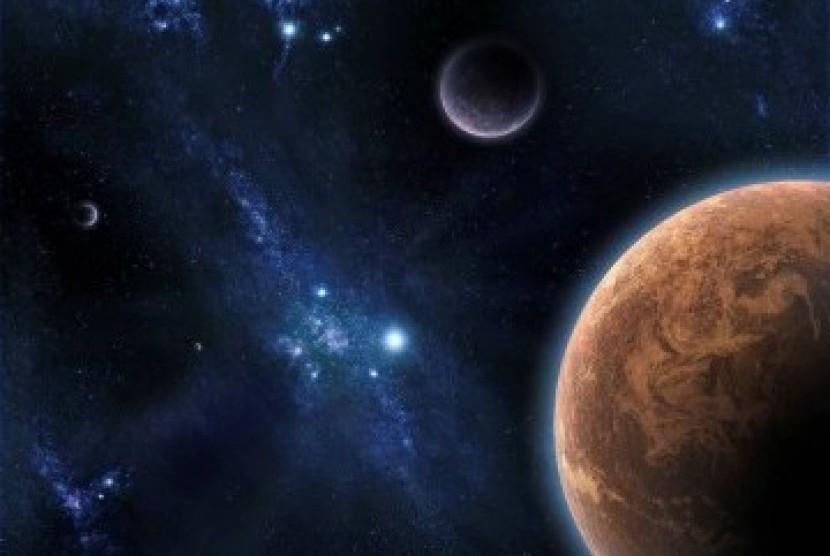 Alam semesta (ilustrasi)