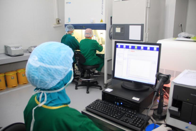 Alat PCR. Ilustrasi