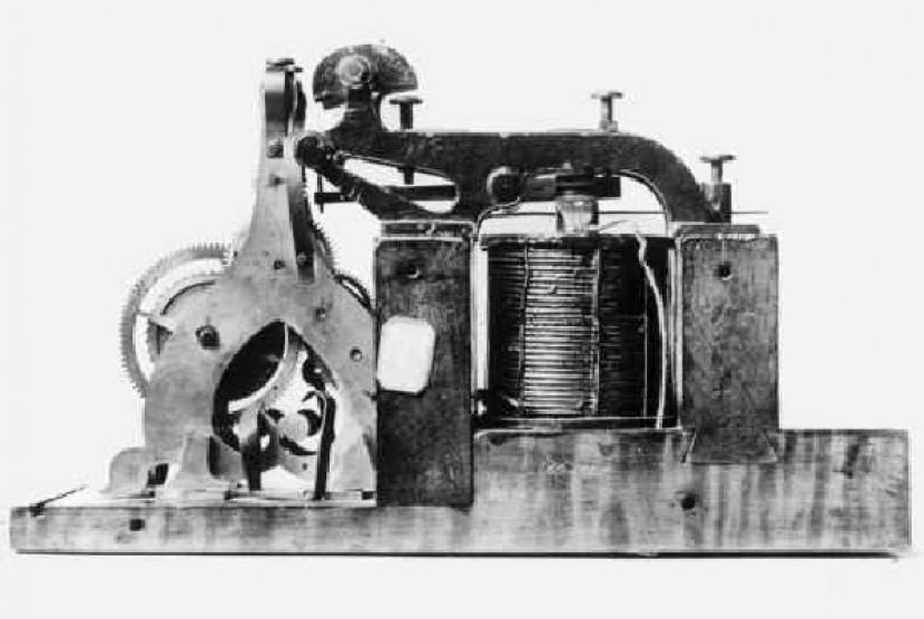 Alat Telegraf listrik pertama