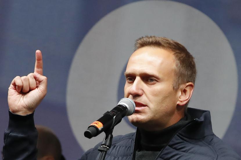 Alexei Navalny. Amerika Serikat (AS) mempersiapkan sanksi baru untuk Rusia atas serangan racun ke Alexei Navalny.