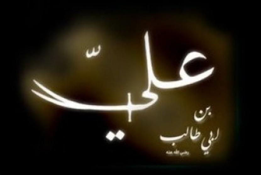 Sebagian besar sahabat Anshar membaiat Ali bin Abi Thalib sebagai khalifah. Ilustrasi Ali bin Abi Thalib