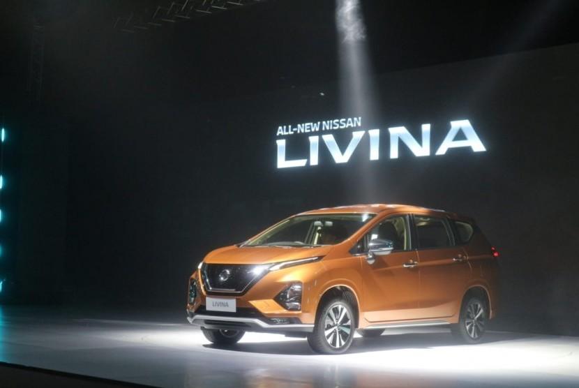 All News Livina  resmi diluncurkan oleh PT Nissan Motor Indonesia, di Jakarta, Selasa (19/2).