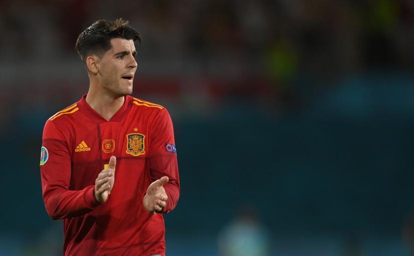 Penyerang Spanyol Alvaro Morata